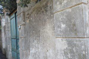 Ventimiglia (IM) – portale di Villa Anna