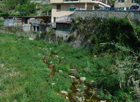 Vallecrosia (IM) – il torrente Verbone nei pressi del centro storico