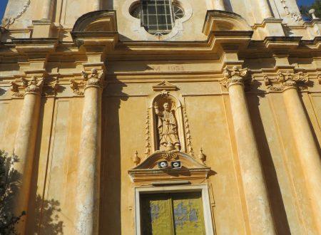 Castellaro (IM): Chiesa Parrocchiale di San Pietro in Vincoli (1619)